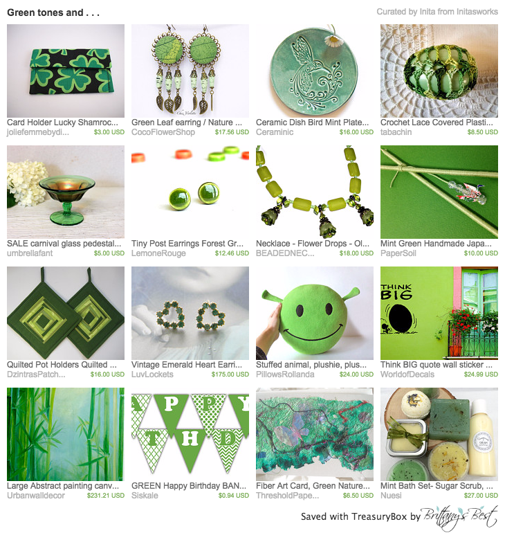 green-tones-and